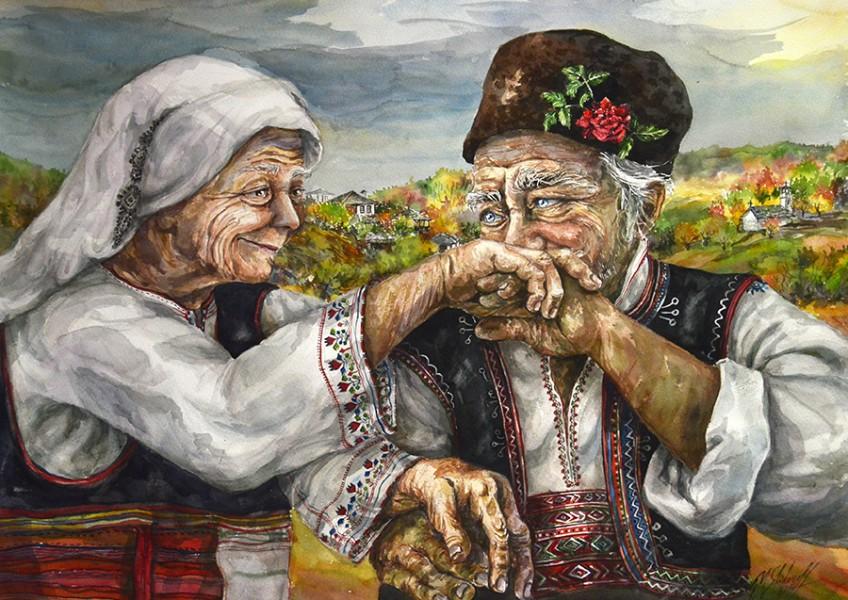 Grandmother and Grandmother Small